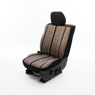 Black Custom Truck Seat Cover