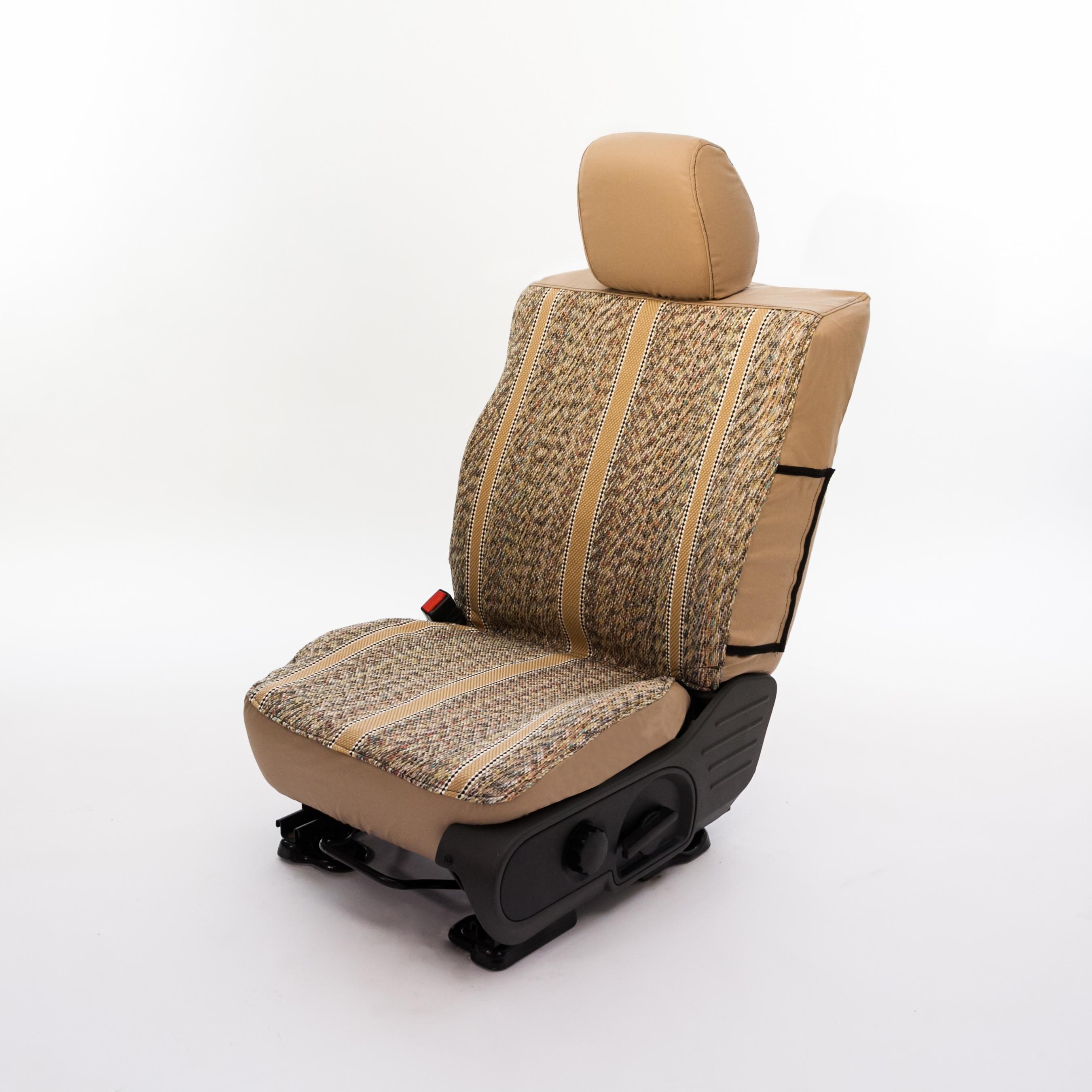 Tan Saddle Blanket Seat Cover